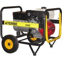 Бензиновый генератор AYERBE AY 5000 HE