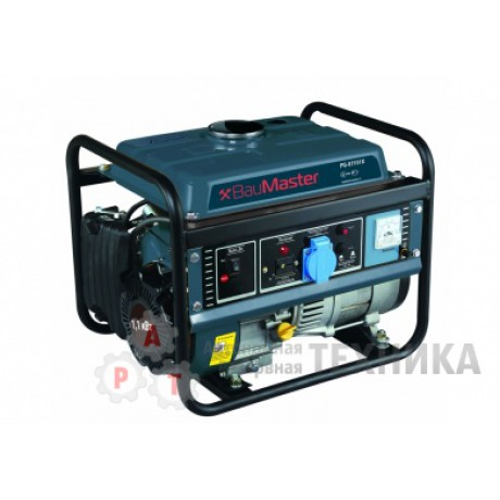 Бензиновый генератор BauMaster PG-87151X