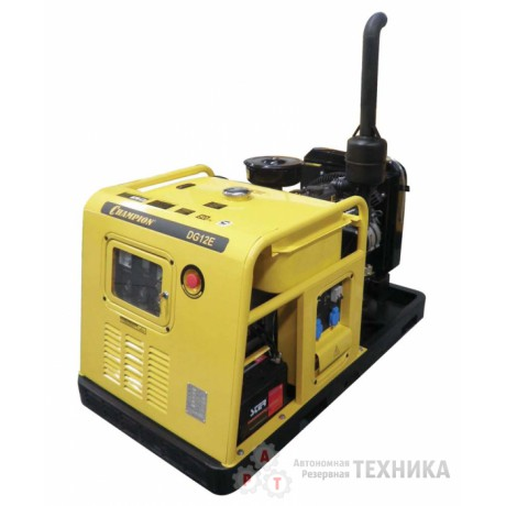 Дизельный генератор CHAMPION DG12E