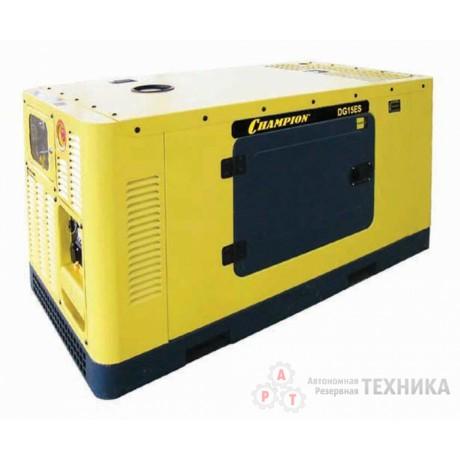 Дизельный генератор CHAMPION DG15ES