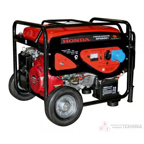 Бензиновый генератор DDE DPG6551Е