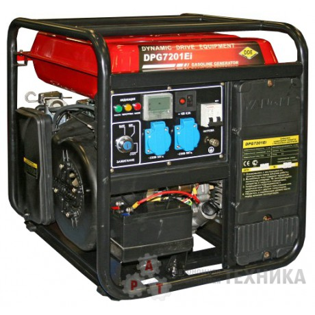 Инверторный генератор DDE DPG7201Ei