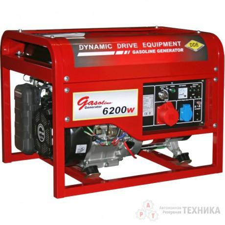 Бензиновый генератор DDE DPG7553E