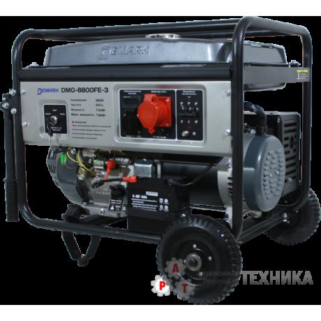 Бензиновый генератор Demark DMG 8800FE-3