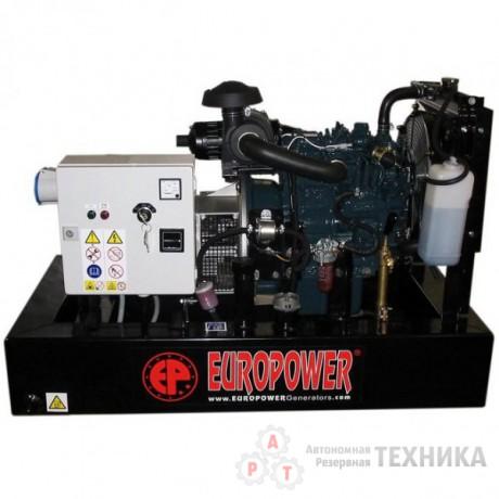 Дизельный генератор Europower EP103DE