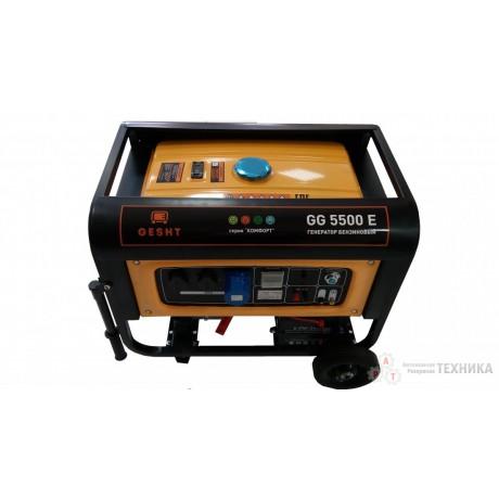 Бензиновый генератор GESHT GG5500E