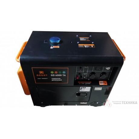 Дизельный генератор GESHT GD6000TA