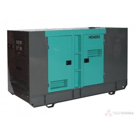 Дизельный генератор HILTT HD40SS3Cum