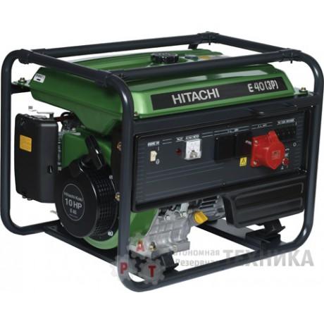 Бензиновый генератор Hitachi E40(3P)