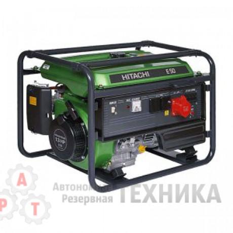 Бензиновый генератор Hitachi E50(3P)