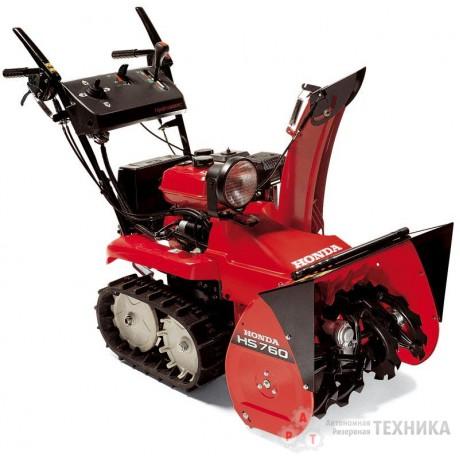 Бензиновый снегоуборщик Honda HSS 760 A ETD