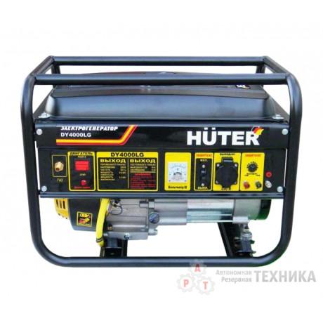 Бензиновый генератор Huter DY4000LG
