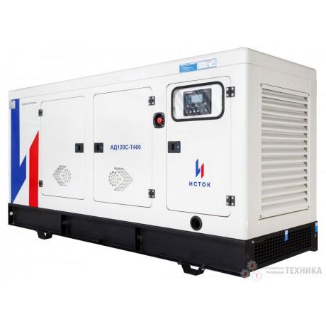 Дизельный генератор Исток АД120С-Т400-РПМ25(е)