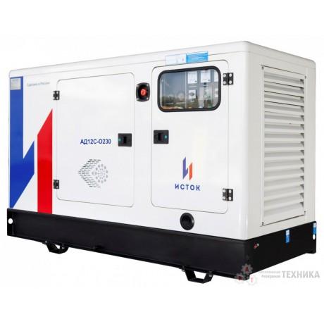 Дизельный генератор Исток АД12С-О230-РПМ11(е)