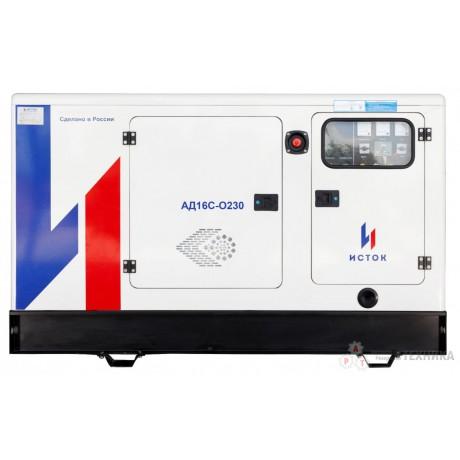 Дизельный генератор Исток АД16С-О230-РПМ11 (РПМ15)