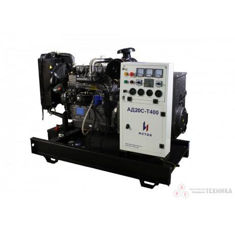 Дизельный генератор Исток АД20С-О230-РМ12(е)
