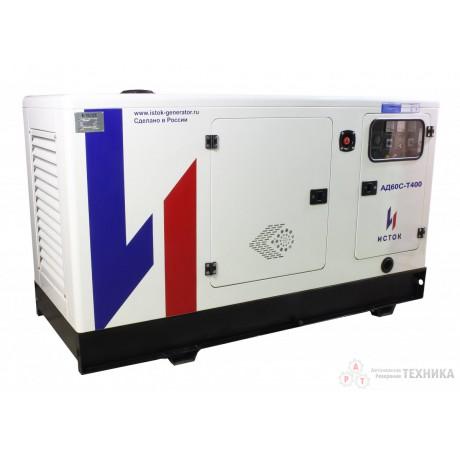 Дизельный генератор Исток АД60С-Т400-2РПМ21(е)