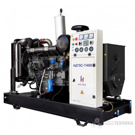 Дизельный генератор Исток АД75С-Т400-2РМ21(е)