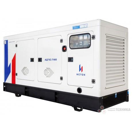 Дизельный генератор Исток АД75С-Т400-РПМ21 (РПМ25)