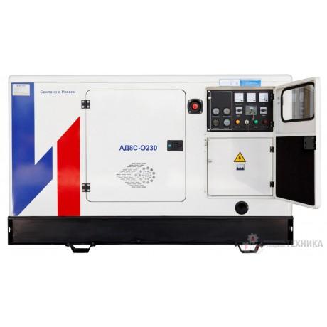 Дизельный генератор Исток АД8С-О230-РПМ11 (РПМ15)