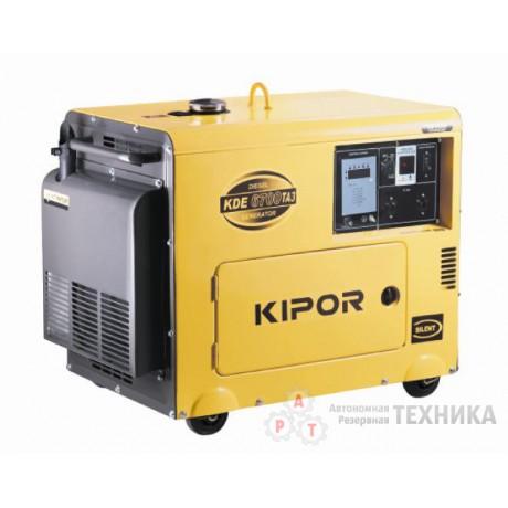 Дизельный генератор Kipor KDE6700TA3