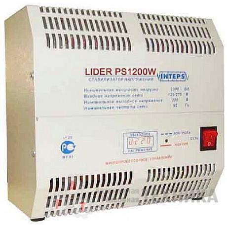 Стабилизатор напряжения Lider PS1200W-30-К