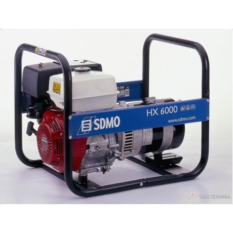 Бензиновый генератор SDMO HX 6000-S