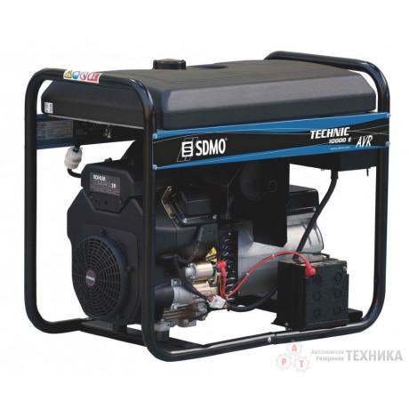 Бензиновый генератор SDMO TECHNIC 10000 E AVR