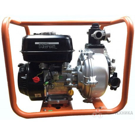 Бензиновая мотопомпа Zongshen HG 15